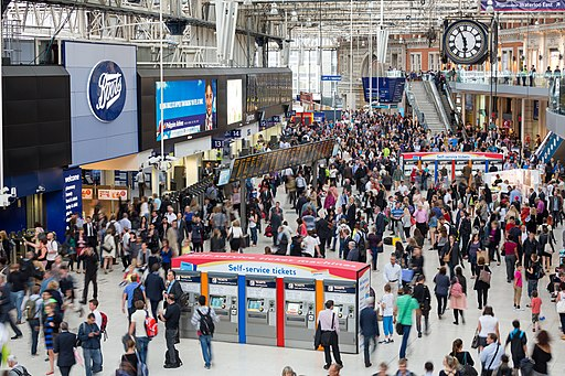 London Waterloo Interior Rush Hour 2, London, UK - Diliff
