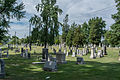 Looking NW across section D 02 - Glenwood Cemetery - 2014-09-14.jpg