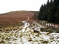 Looking back along the Pennine Way to Raven's Knowe - geograph.org.uk - 645751.jpg