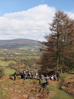 Looking over the Usk Valley - geograph.org.uk - 1765272
