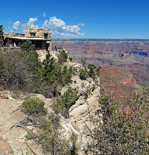 By Don Graham from Redlands, CA, USA - God bless it! (Lookout Studio, Grand Canyon, AZ 9-15) [CC BY-SA 2.0 (http://creativecommons.org/licenses/by-sa/2.0)], via Wikimedia Commons