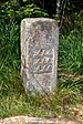 Lothar Path - Black Forest National Park - Boundary stone 01.jpg