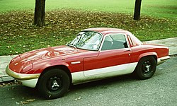 1974 Lotus Elan S4 Sprint Coupe (integral, not hardtop)