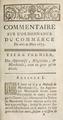 Louis XIV - Acte royal, mars 1673, Des Apprentis, Négocians & Marchands, Nouveau commentaire, 1756.png