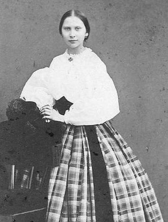 Louise of Sweden - Young Louise, photographed in Sweden