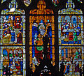 Louviers - Eglise Notre-Dame - Vitrail de la légende de saint Nicolas (baie n°11).jpg