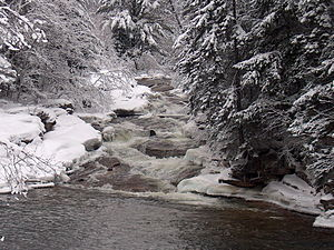 Ammonoosuc River - The Lower Falls of the Ammonoosuc