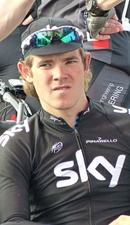 Luke Rowe Welsh racing cyclist