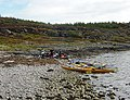 Lunch stop at Port na Beiste - geograph.org.uk - 1761588.jpg