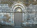 Lussas-et-Nontronneau Nontronneau église portail.JPG