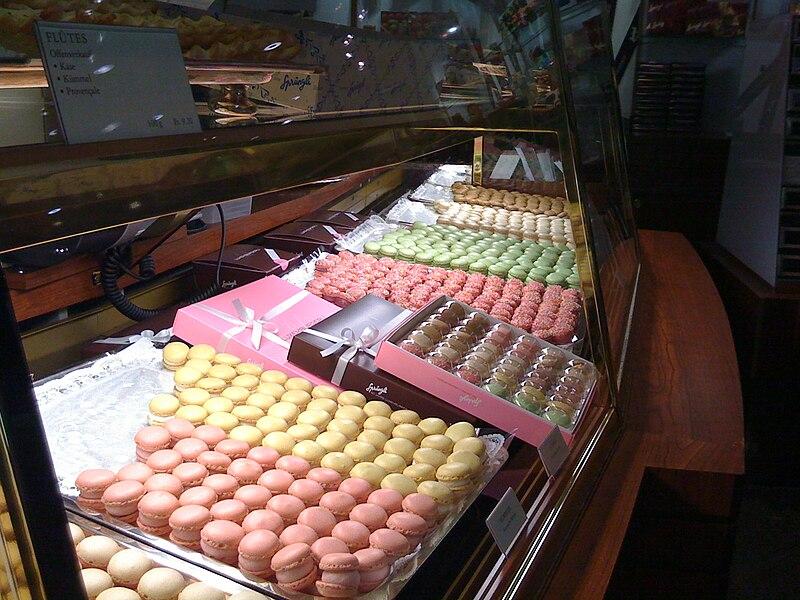 Sobremesas em Zurique