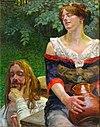 Lwowska Galeria Sztuki - Jacek Malczewski - Christ and the Samaritian Woman.jpg