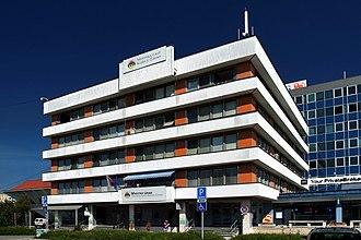 Košice-Západ - Image: MÚ MČ Košice Západ
