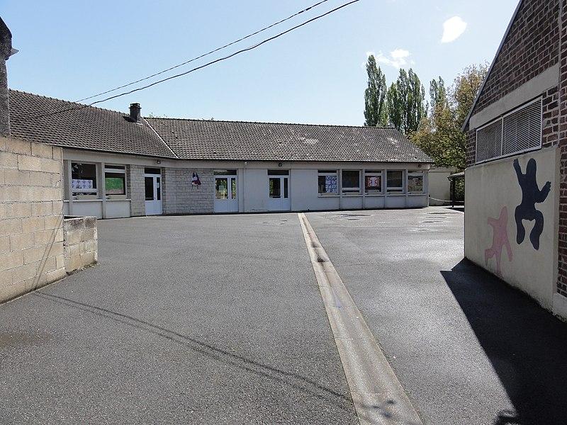 Mézières-sur-Oise (Aisne) école