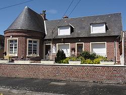 Mézières-sur-Oise (Aisne) mairie.JPG