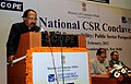 "M. Veerappa Moily delivering the inaugural address at the ""2nd National CSR Conclave ""Corporate Social Responsibility Conclave– Public Sector Perspective"", in New Delhi on February 01, 2012.jpg"