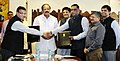 M. Venkaiah Naidu and the Minister of State for Power, Coal, New and Renewable Energy and Mines (Independent Charge).jpg