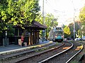 MBTA 3827 arriving at Coolidge Corner, August 2016.JPG
