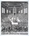 "MCC-42253 ""Synode Dordracenae delineato"" opening van de Nationale Synode te Dordrecht (1).tif"