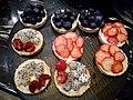MC 澳門 Macau JW Marriott hotel 萬豪酒店 restaurant 自助餐廳 buffet food fruit cakes January 2017 Lnv2 (3).jpg