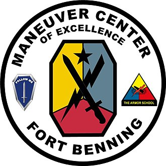 Fort Benning - Image: M Co E Seal