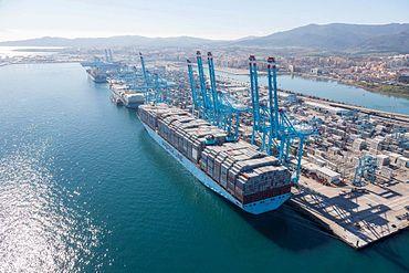El puerto de Algeciras acumula en mayo sus mejores cifras con nueve millones de toneladas de tráfico