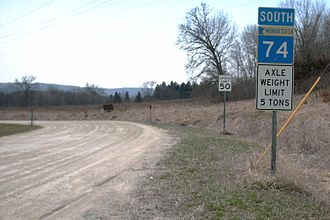 Minnesota State Highway 74 - Image: M Nhwy 74s 2006 04 09