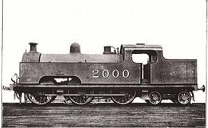 Midland Railway 2000 Class - Midland Railway 0-6-4T 2000