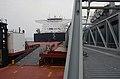 MSC's USNS Stockham and USNS Montford Point perform 'skin-to-skin' maneuver 160313-N-WJ640-229.jpg