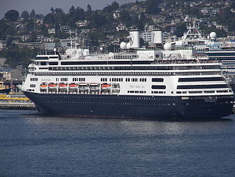 MS Amsterdam from Elliott Bay, Seattle 2.jpg