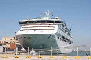 MV Oceana docked in Cadiz.JPG