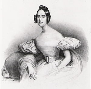 Mademoiselle Ambroisine - Mademoiselle Ambroisine (around 1835)