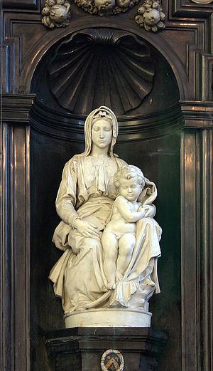 Madonna of Bruges - Image: Madonna michelangelo