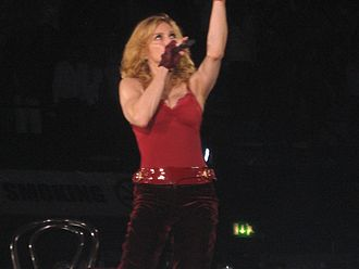 "Confessions Tour - Madonna performing ""Like it or Not"" during the Bedouin segment of the show."
