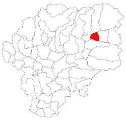 Vị trí của Magura Ilvei