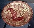 Maiolica ispano-moresca, piatto a lustro, manises xviii secolo 01.jpg