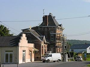 Moustier-en-Fagne - Image: Mairie moustier en fagne