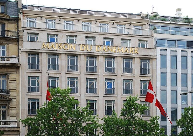 File maison du danemark paris 17 july wikipedia for Maison du the paris