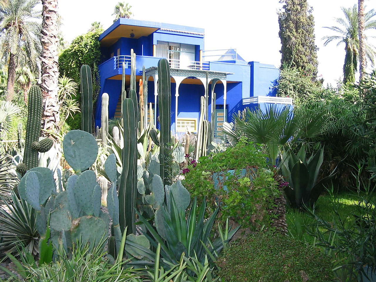 Jardin Ysl Marrakech Of File Majorelle Wikipedia