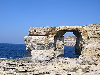 Game of Thrones - The Azure Window at Ras-id-Dwerja, on Gozo, was the site of the Dothraki wedding in season one.