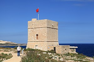 Malta - Pembroke - Triq Martin Luther King - Madliena Tower 03 ies.jpg