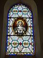 Mametz (Pas-de-Calais, Fr), église de Crecques, vitrail 07.JPG