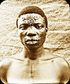 Man with scarification patterns, Congo, ca. 1900-1915 (IMP-CSCNWW33-OS10-18).jpg