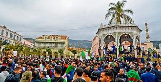 2019 Algerian protests - Protesters in Blida