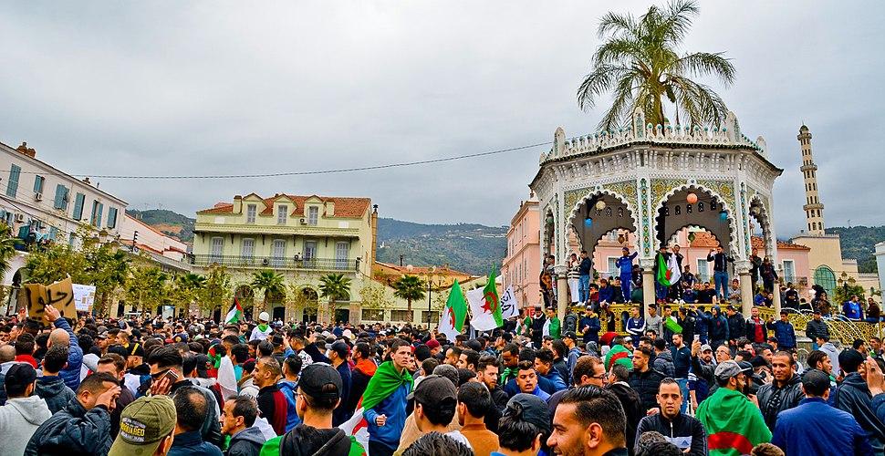 Manifestation contre le 5e mandat de Bouteflika (Blida)