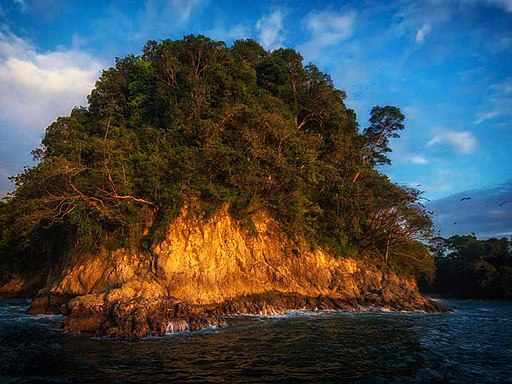 Manuel Antonio National Park from the sea Places to Visit in Costa Rica