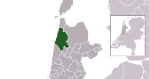 Schagen - Image: Map NL Municipality code 0441 (2014)