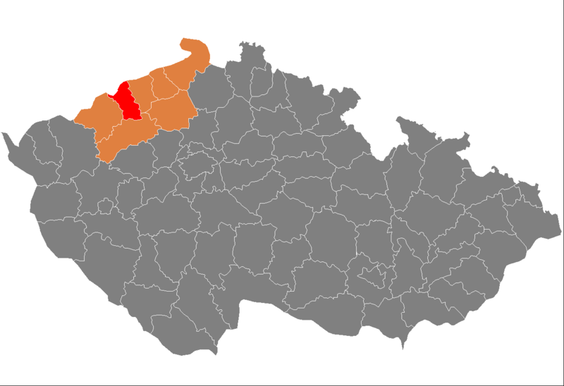Ficheiro:Map CZ - district Most.PNG
