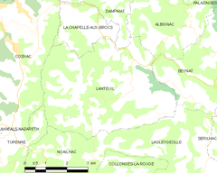 Map commune FR insee code 19105.png