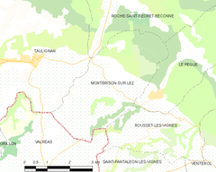 Map commune FR insee code 26192.png
